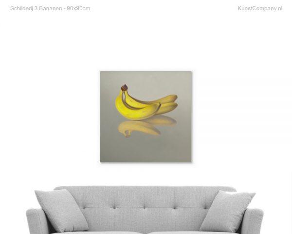 schilderij  bananen
