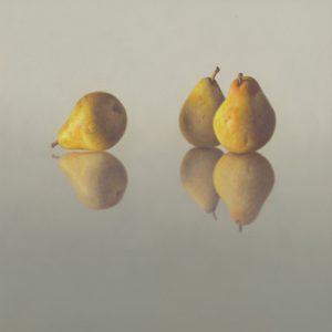 schilderij  peren