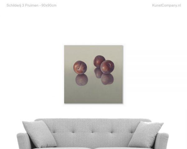 schilderij  pruimen