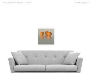 schilderij  sinaasappels