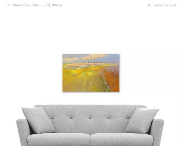 schilderij a beautiful day