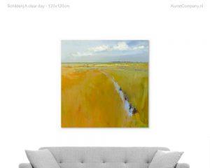 schilderij a clear day