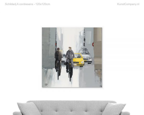 schilderij a contresens