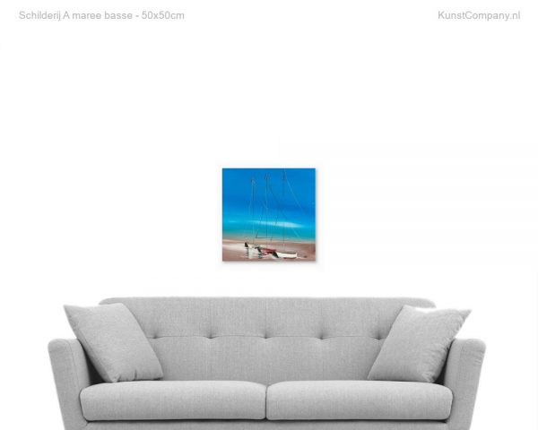 schilderij a maree basse