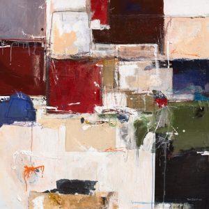 schilderij abstract harmony vii