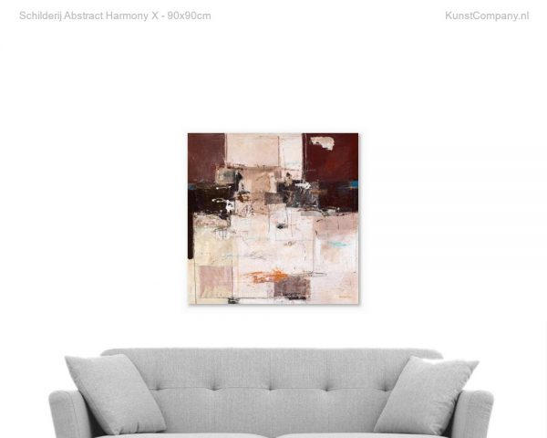 schilderij abstract harmony