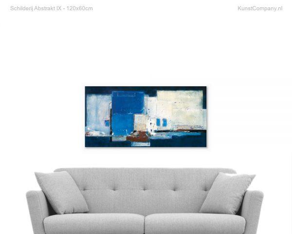 schilderij abstrakt ix