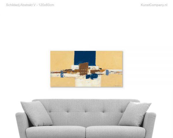 schilderij abstrakt v
