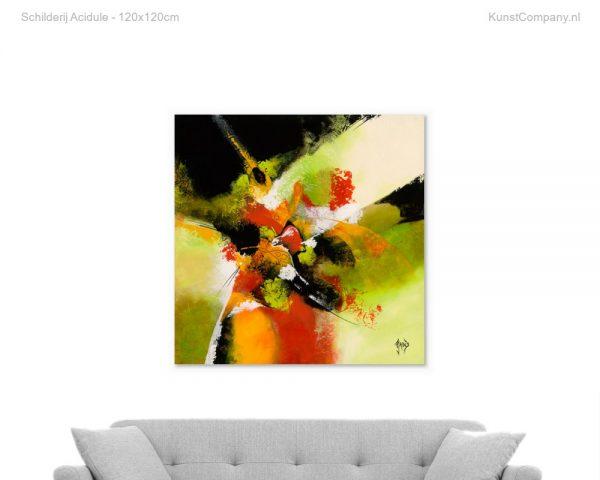 schilderij acidule
