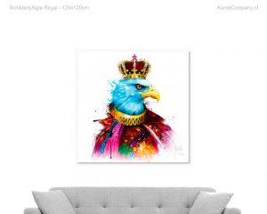 schilderij aigle royal