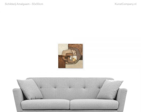 schilderij amalgaam