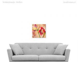 schilderij amarylis
