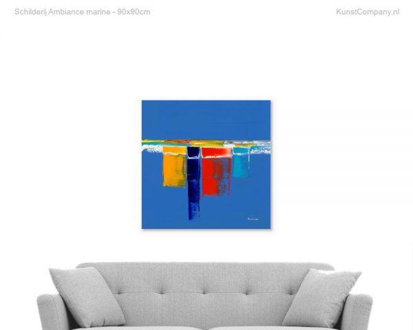 schilderij ambiance marine
