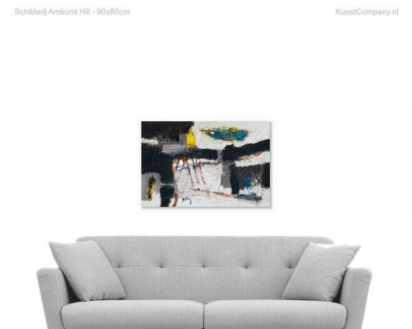 schilderij ambunti hill