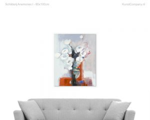 schilderij anemones i