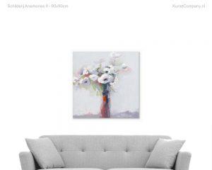 schilderij anemones ii