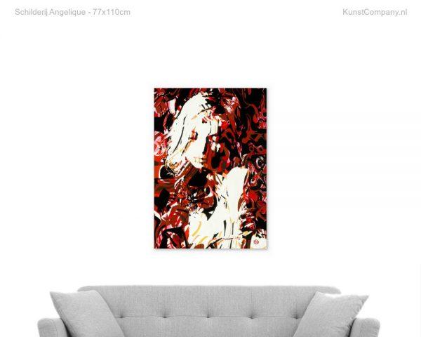 schilderij angelique