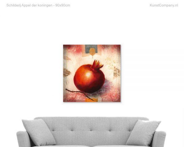 schilderij appel der koningen