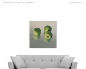 schilderij appel symfonie no