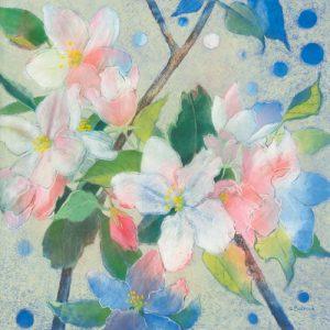schilderij apple blossom