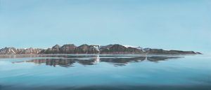 schilderij arctic reflection