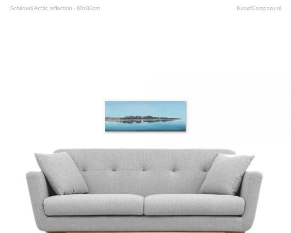 schilderij arctic reflection
