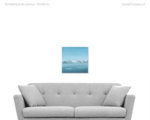 schilderij arctic silence