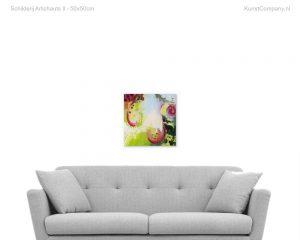 schilderij artichauts ii