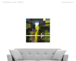 schilderij arun valley
