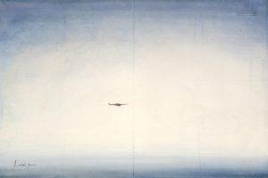 schilderij au dessus des mers