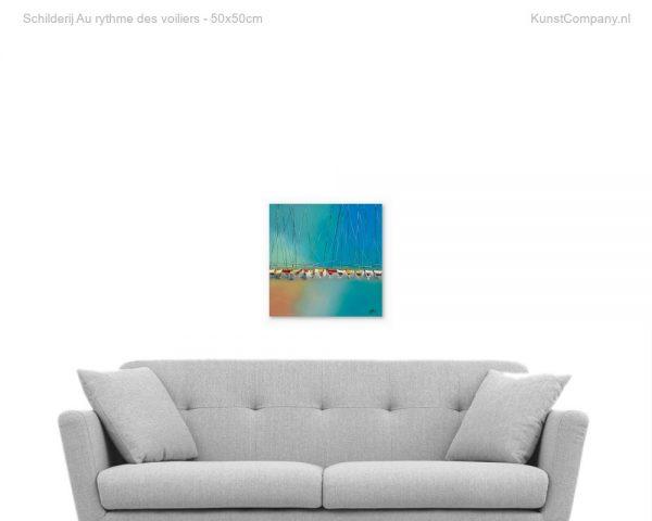 schilderij au rythme des voiliers