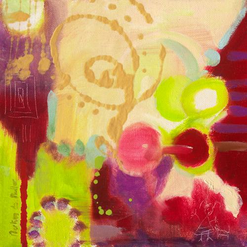 schilderij aubergines ii