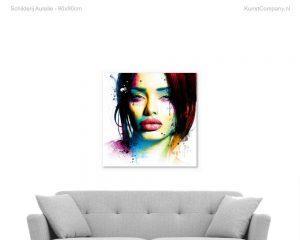 schilderij aurelie
