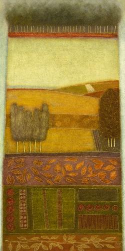 schilderij autumn song i