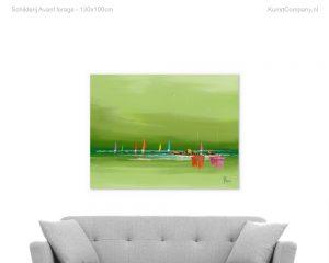 schilderij avant lorage