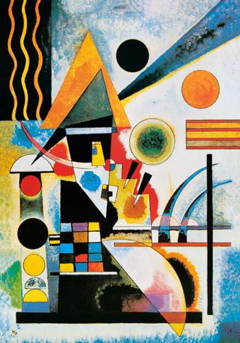 schilderij balancement