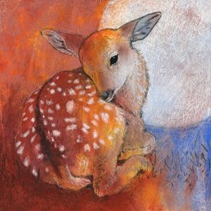 schilderij bambi