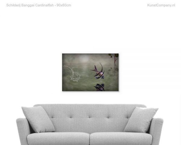 schilderij banggai cardinalfish