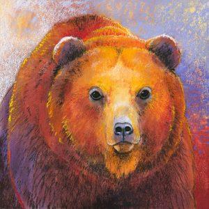 schilderij beer