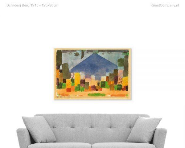 schilderij berg