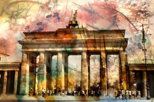 schilderij berlijn iii