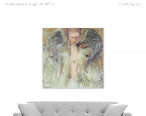 schilderij beschermengel