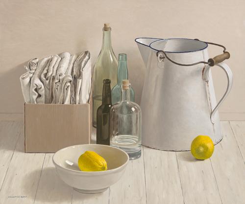 schilderij big jug and  lemmons
