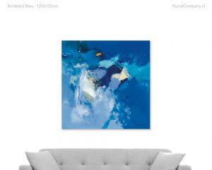 schilderij bleu