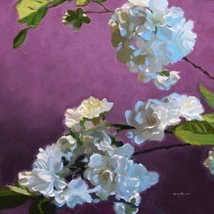 schilderij blossom i