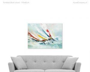 schilderij bord a bord
