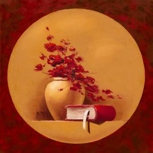 schilderij bouquet de fleurs ii