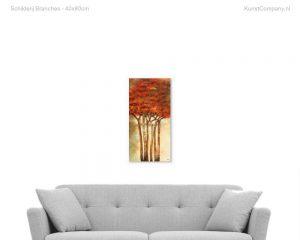 schilderij branches