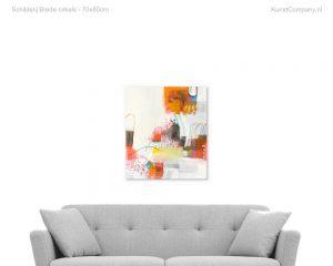 schilderij brede cirkels