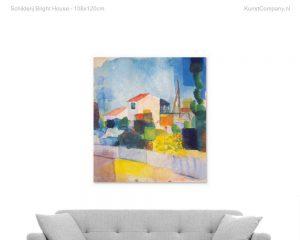 schilderij bright house